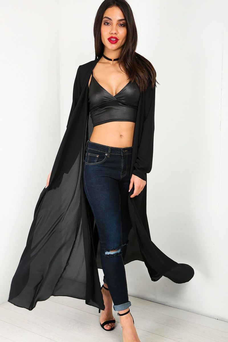 d503c5085b4 Shina Sheer Maxi Cardigan £16.00 Featuring long sleeves and floaty sheer  fabric. Throw over a cute bikini and sliders  celebrityfashion  models ...