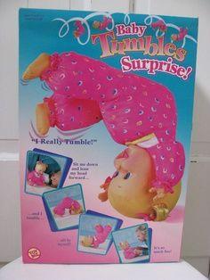 Baby Tumbles Surprise 80 S Amp 90 S Dolls Amp Stuffed