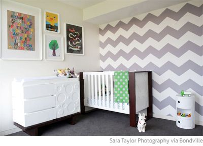 Bondville real kids room grey chevron 2 year old boy 39 s - Bedroom ideas for 3 year old boy ...