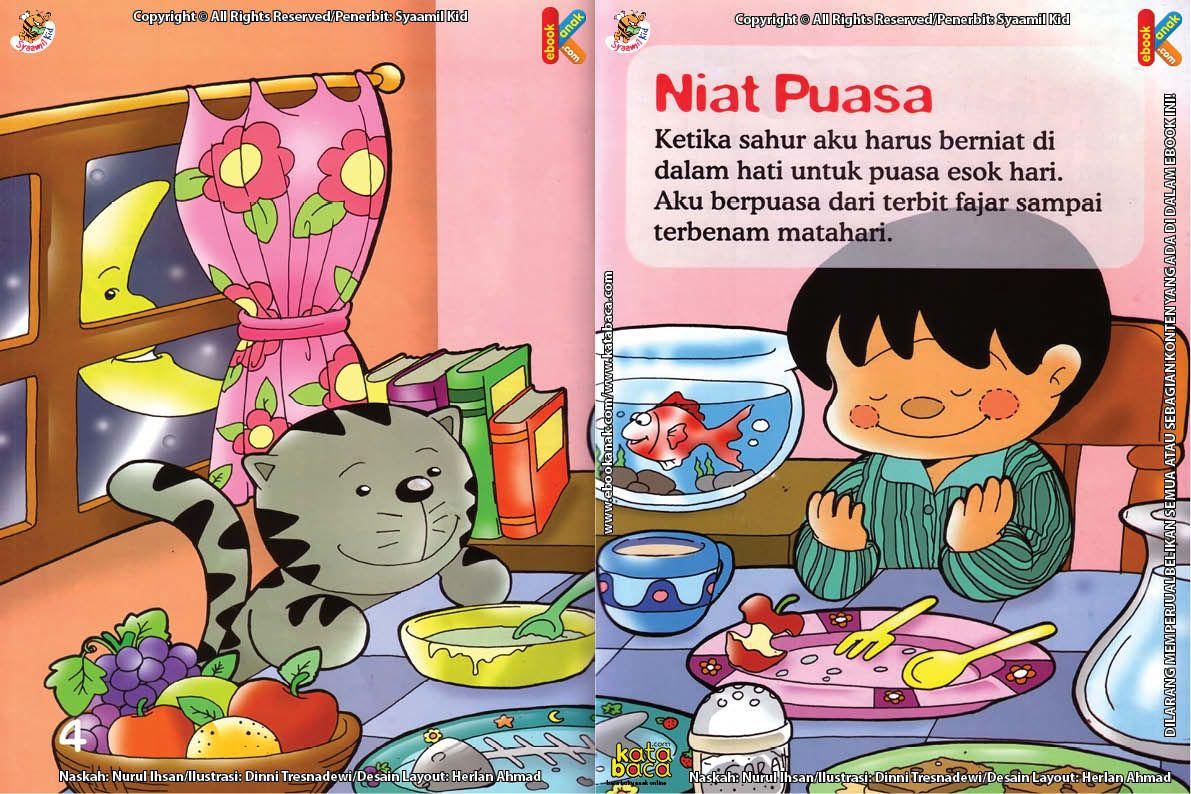 Download Ebook Seri Fikih Anak Asyiknya Aku Puasa Ramadhan Niat