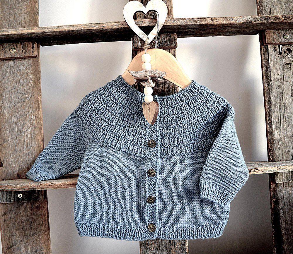 7a530251aa574 Raven Fall Cardigan - P135 Knitting pattern by OGE Knitwear Designs ...