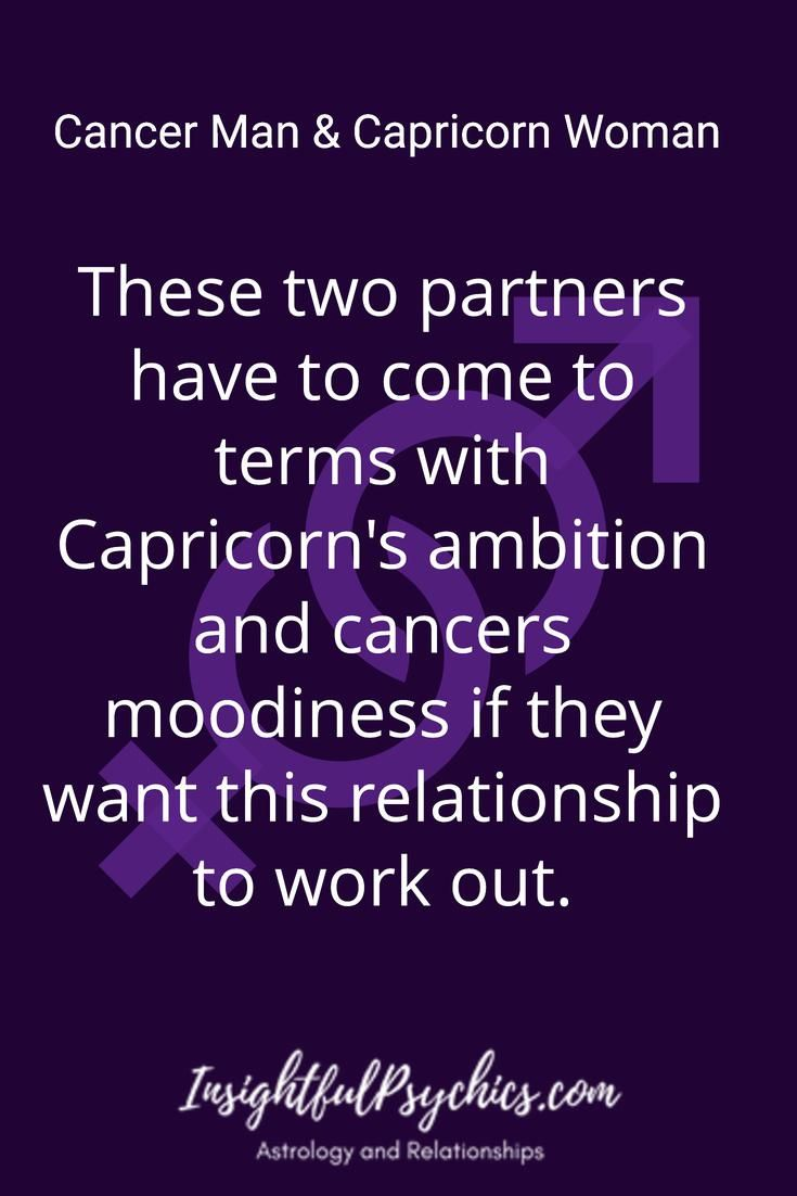 Capricorn cancer compatibility sexually