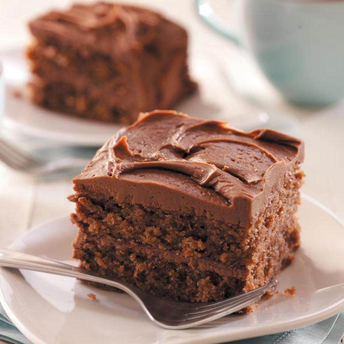 3b95e1c800bd Chocolate Cake with Cocoa Frosting   Recipe in 2018   desserts ...