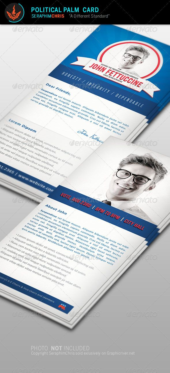 Leading Strong Political Flyer Template Bundle Flyer template - political brochure