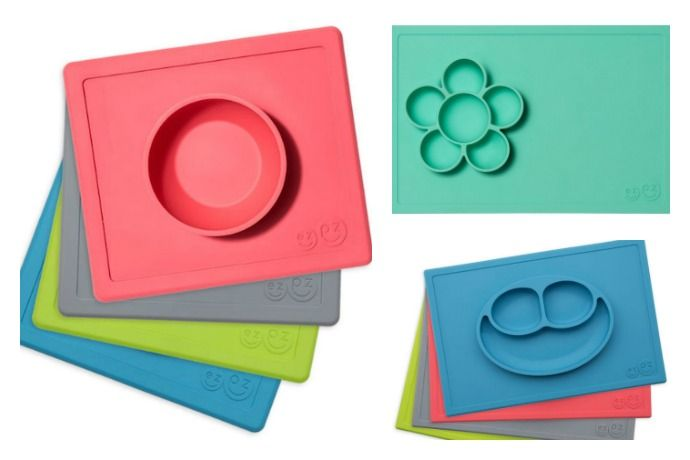 Ezpz Placemats Dinnertime Game Changer Cool Mom Eats Kids Tableware Baby Placemat Placemats