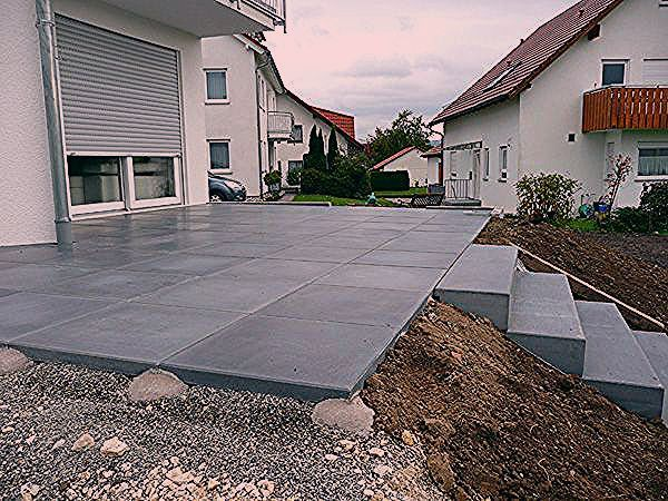 Photo of Concrete exit stage,  #Concrete #exit #stage #Terrassedalle