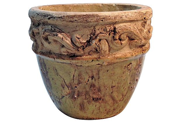 Sculpted Terracotta Pot on OneKingsLane.com