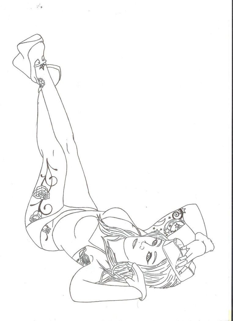 Tattoo pin up girls designs - Navy Drawings Of Tattoos Pinup Girl W Tattoos By Vipergts1011 On Deviantart