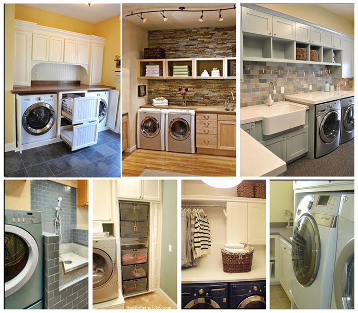 Diply.com - Laundry Rooms that you May Actually Want to do Laundry In