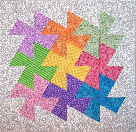 Twister Quilt Block Tutorial - The Artistic Creation of Things ... : twister quilts - Adamdwight.com