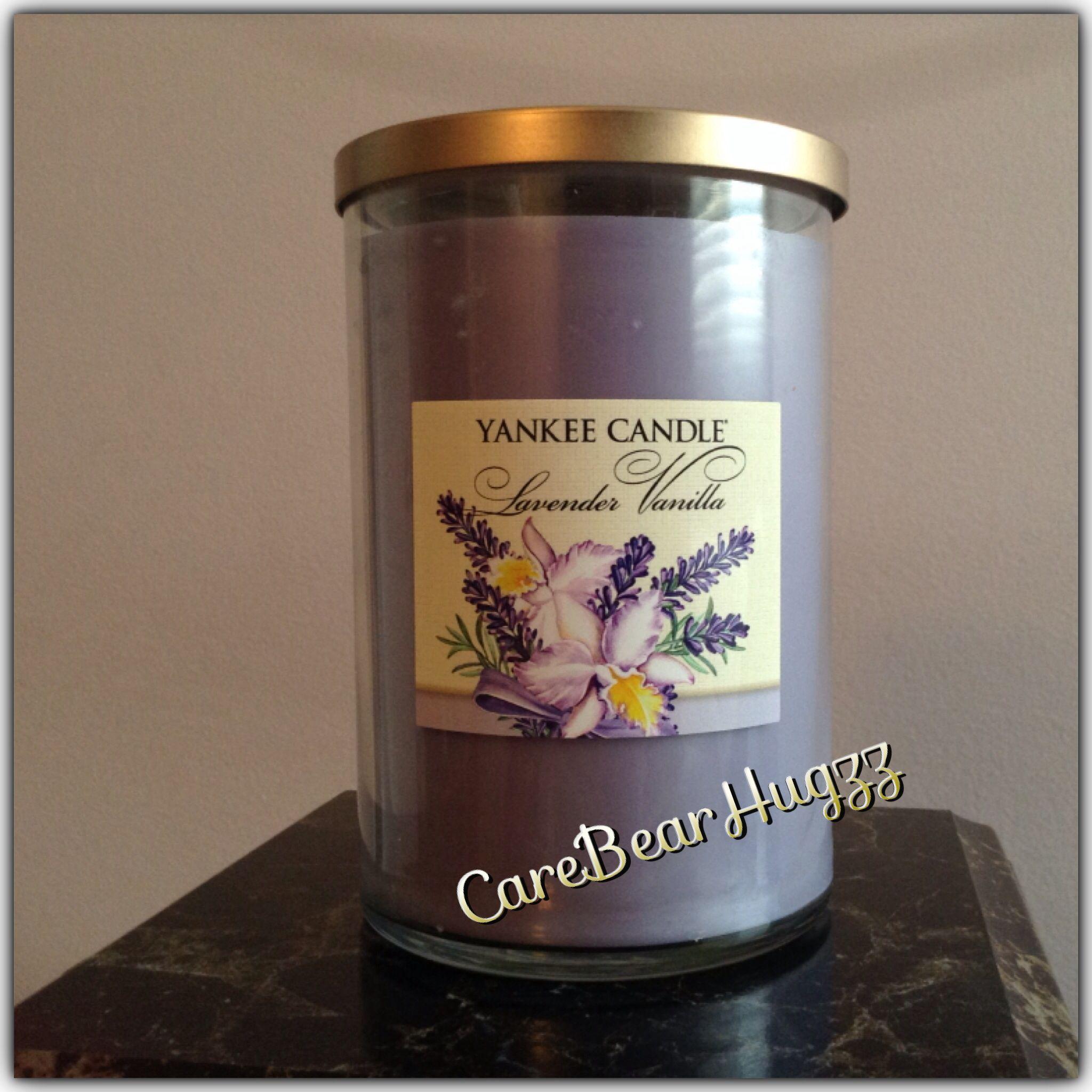 Yankee candle lavender vanilla homecandlesdecorgifts pinterest