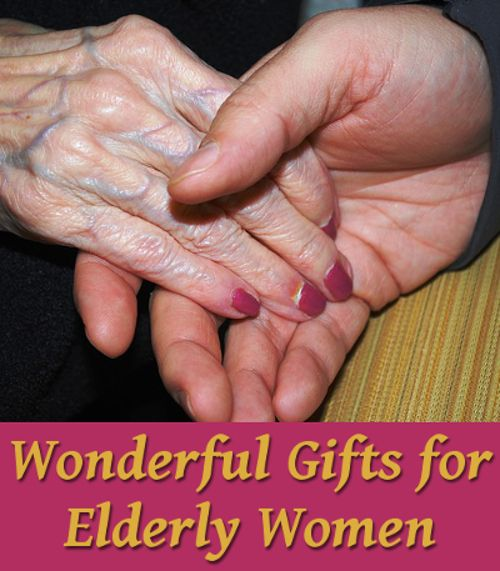 Elderly lady gifts for christmas