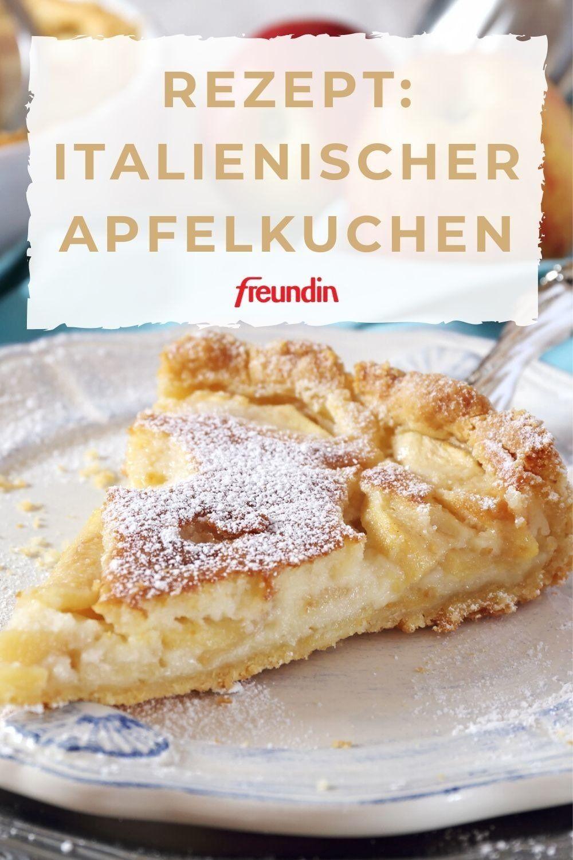Träumen Sie sich mit diesem leckeren Apfelkuchen-Rezept in den Italien-Urlaub