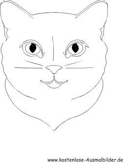Ausmalbilder Katzengesicht Tiere Zum Ausmalen Malvorlagen Katzen Katzengesicht Tiere Zum Ausmalen Gesichtsschablone
