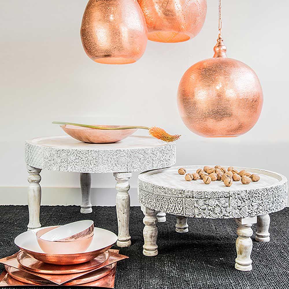 Orientalischer couchtisch massives mangoholz for Sofa orientalischer stil