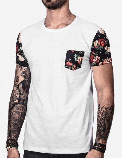 2c395c439 Camisetas estampadas e florais garbosas. Pólos e camisas masculinas ...