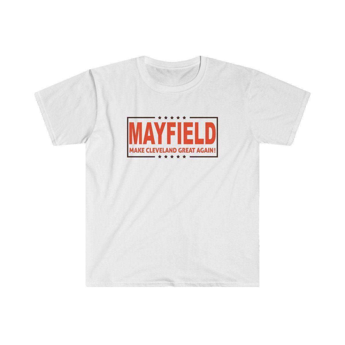 be08dbb70162 Mayfield Mcga T-Shirt, Make Cleveland Great Again T-Shirt, Mayfield  Cleveland Browns T-Shirt, Baker Mayfield T-Shirt