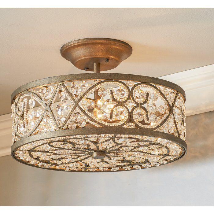 Hartland 4-Light Semi-Flush Mount | Kitchen ideas | Pinterest ...