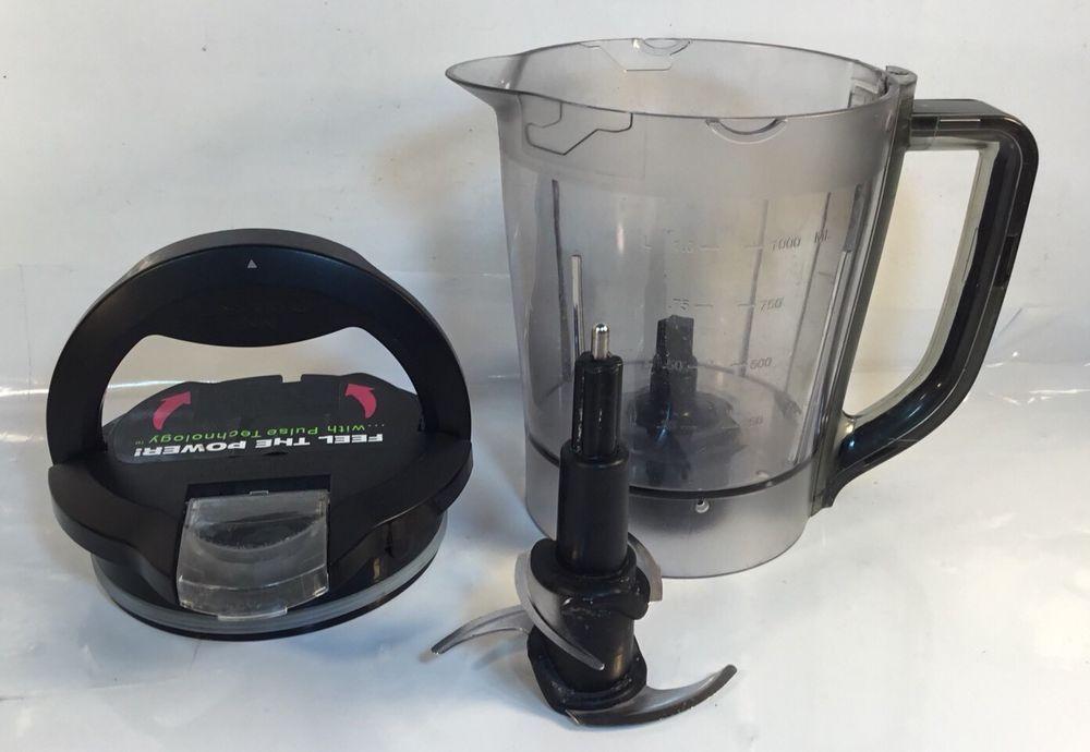 Black Ninja Kitchen System Pulse Bl201 40 Oz Bowl Locking Lid