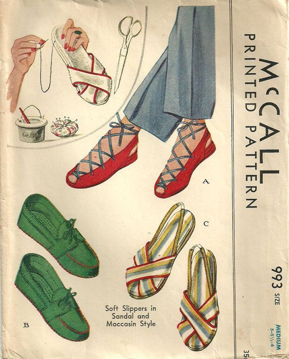 McCall 993 Vintage 40s Sewing Pattern by studioGpatterns on Etsy, $38.50