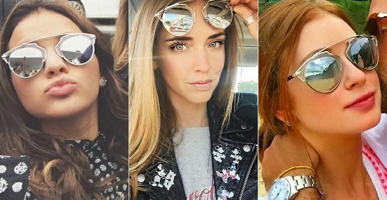 a4a60a8086f6b Bruna Marquezine e mais famosas usam óculos de sol que é hit do verão