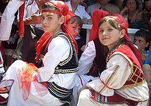 children in Kosovo celebrate Children's day