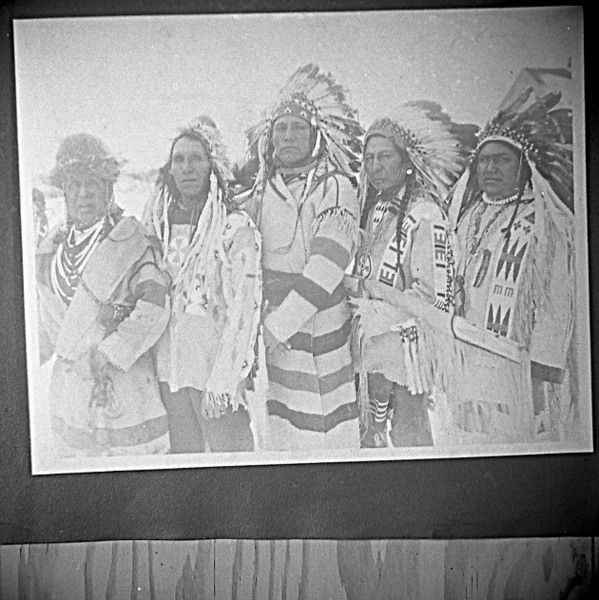 Peel : University of Lethbridge, Blackfeet Group - 3 (1910-1945)