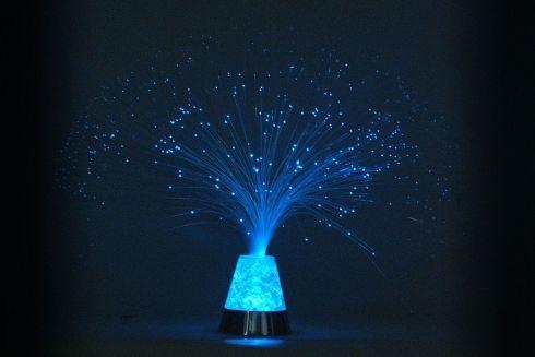 LED FIBER WITH ICE TRY ME. Lampada da tavolo a fibre