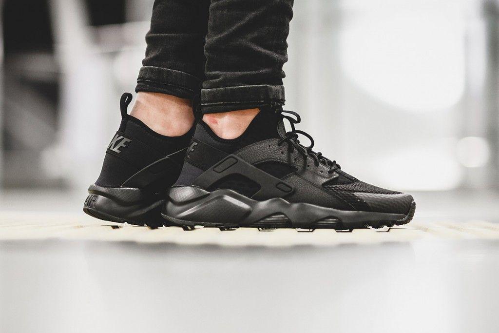 nike-air-huarache-run-ultra-br-triple-black-01   Nike air huarache ...