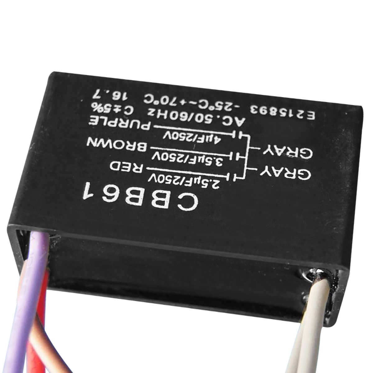 Cbb61 5 Wire Ceiling Fan Capacitor Wiring Diagram