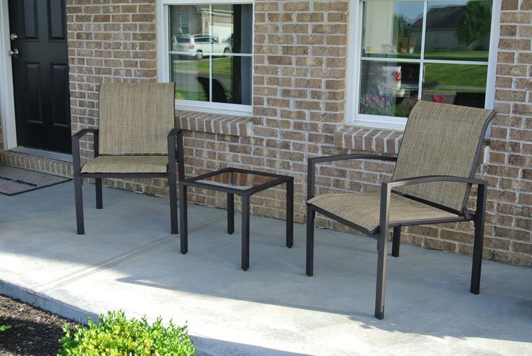 Galveston 3pc Seating Set Brown