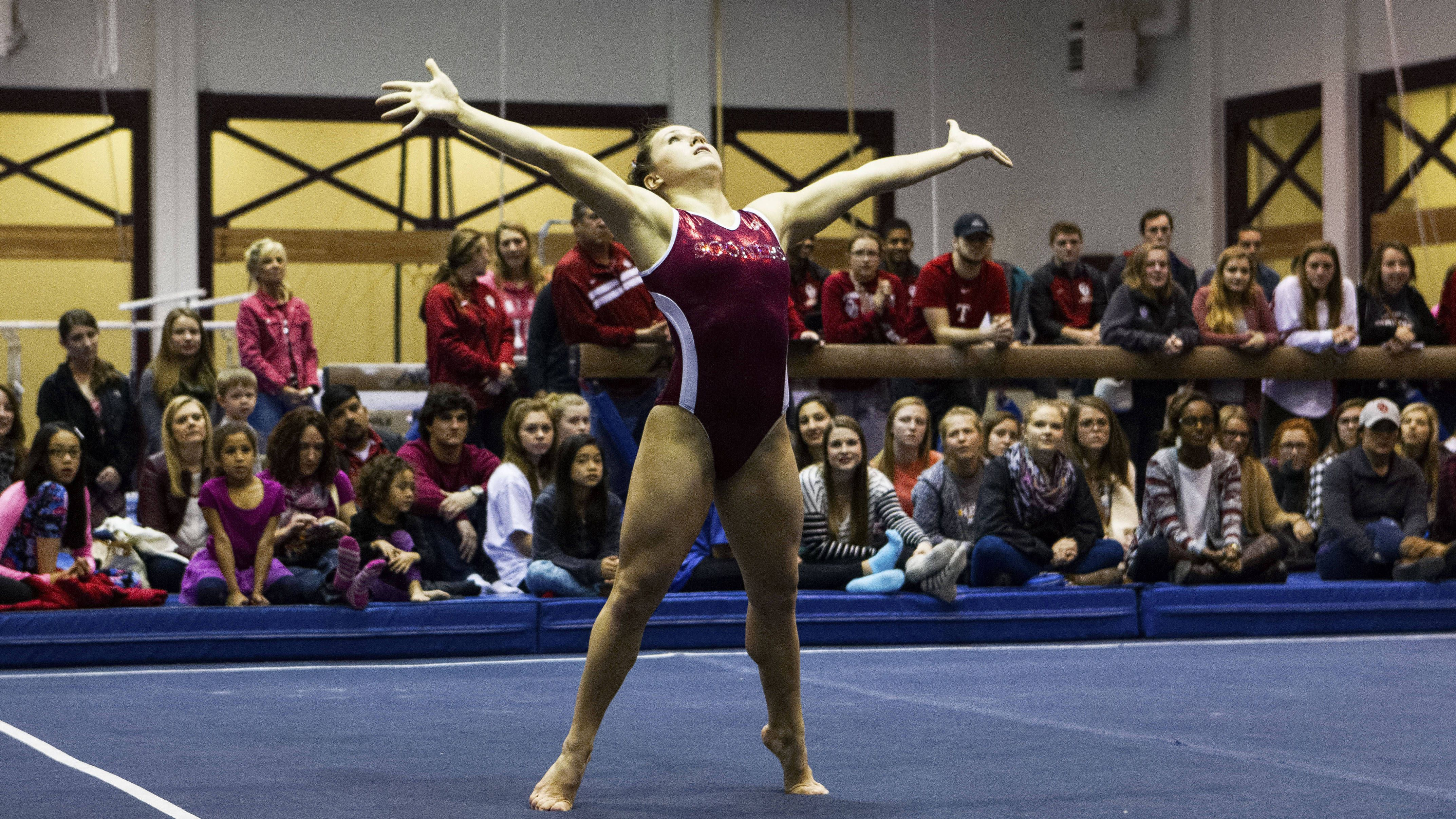 Women's Gymnastics Intrasquad Set for Friday Female