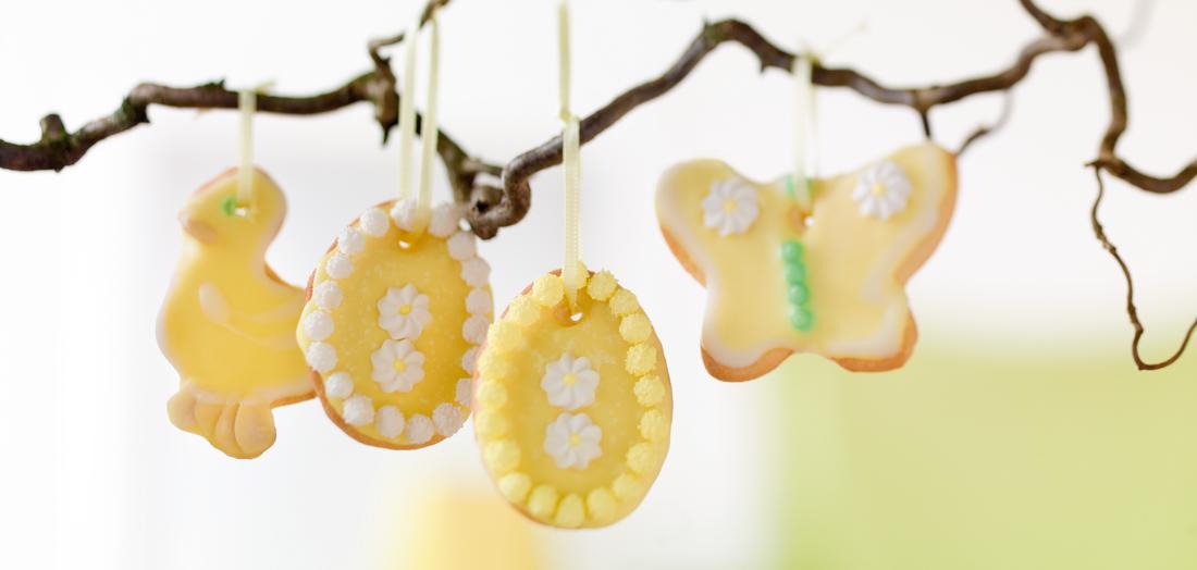 Oster-Zitronenkekse