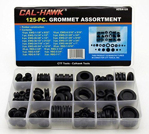 Rubber Grommet Assortment Set Electrical Gasket 125 Pc Cal Hawk Rubber Grommets Grommets Ebay