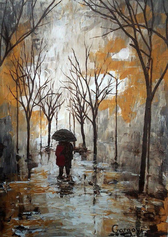 Autumn Rain by Milena Hristova in 2019 | The falling ...