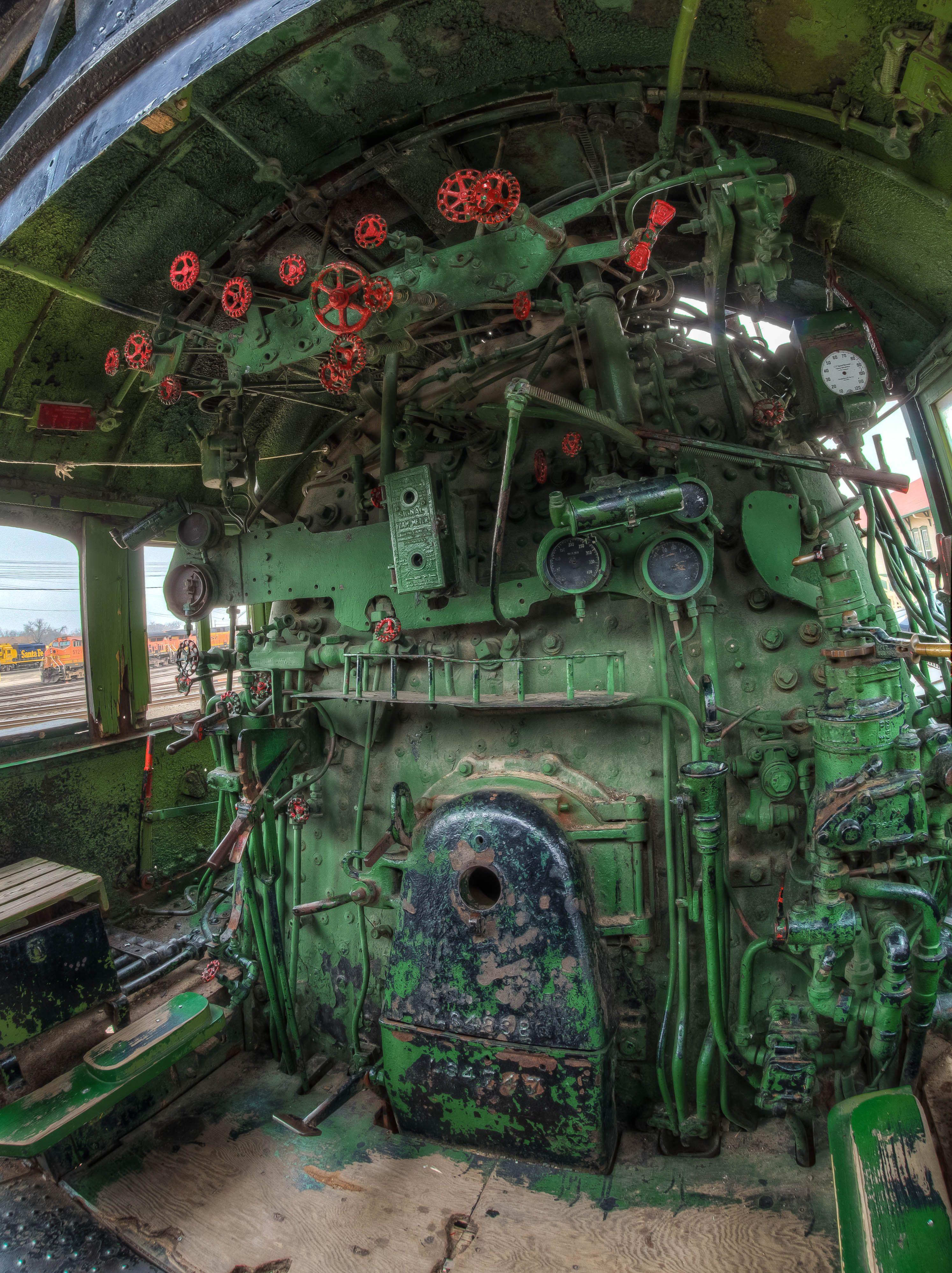 Boat Engine Room: Abandoned Places, Abandoned Train