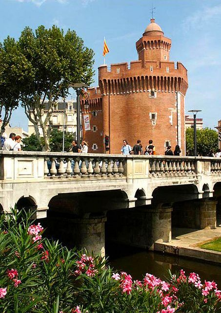Castellet, Perpignan, LanguedocRoussillon_ France in 2019