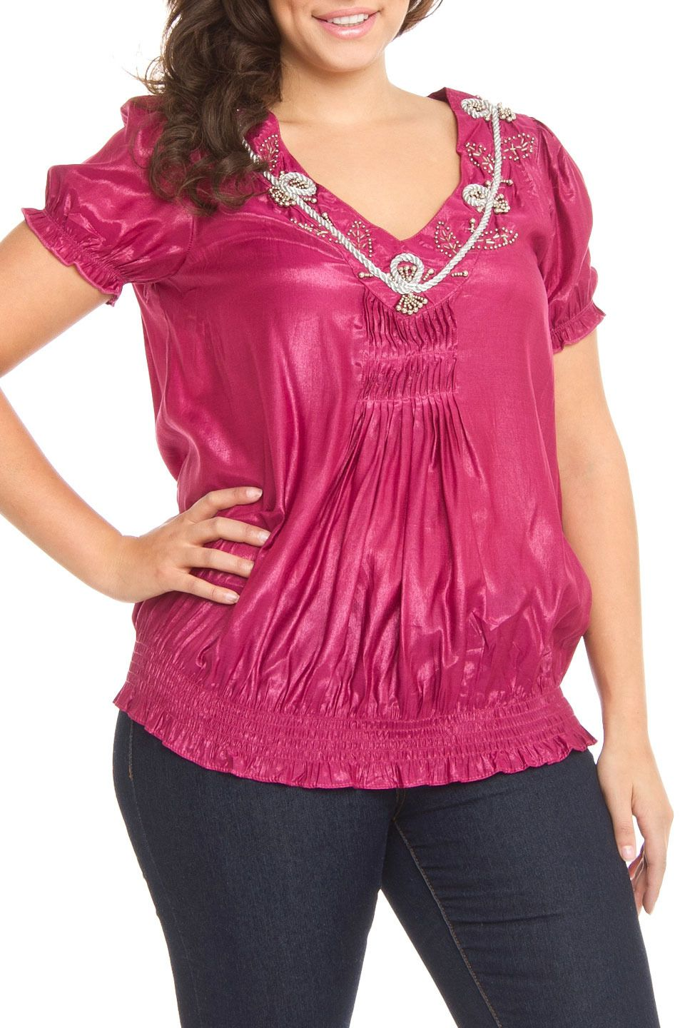 frenzy doreen top in purple beyond the rack my style