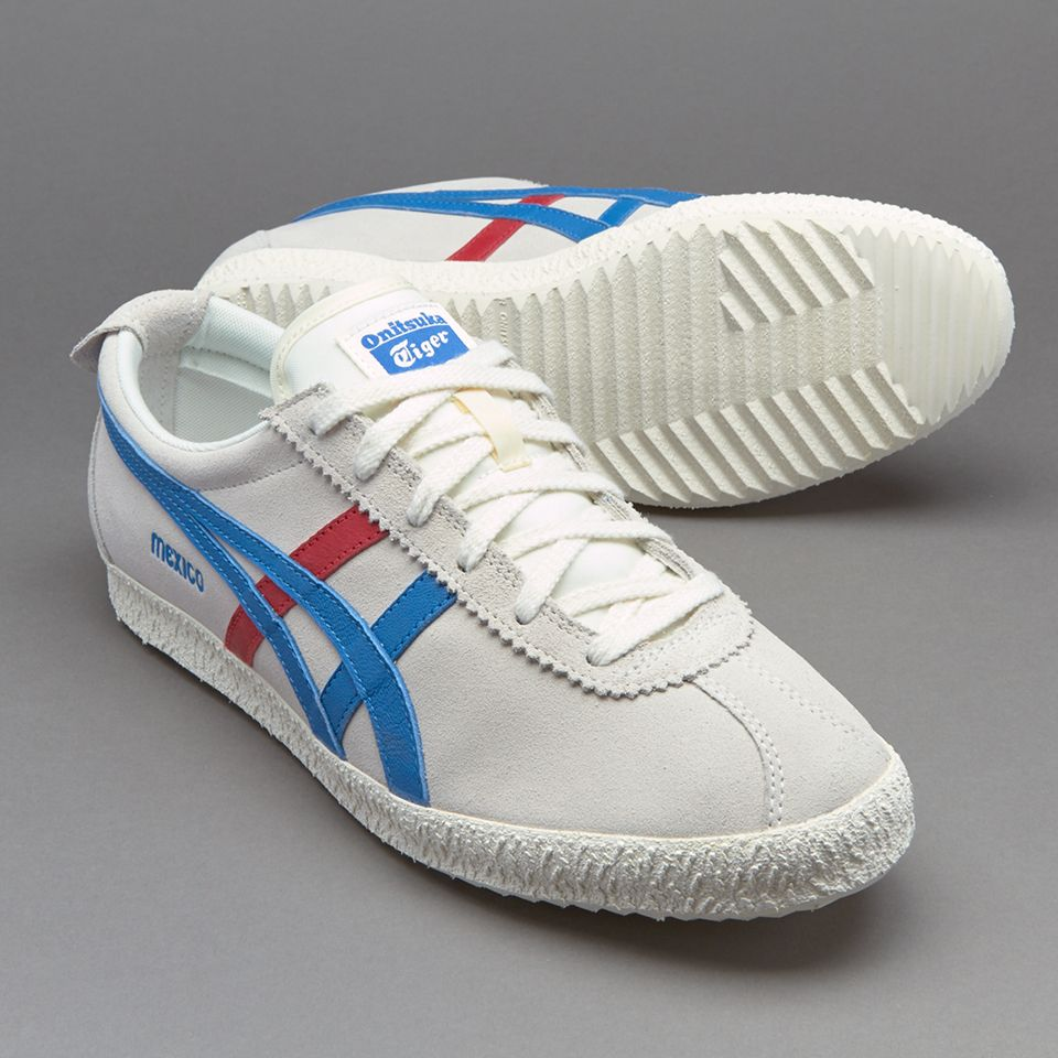 Onitsuka Tiger Mexico Delegation - Mens Shoes - White / Blue