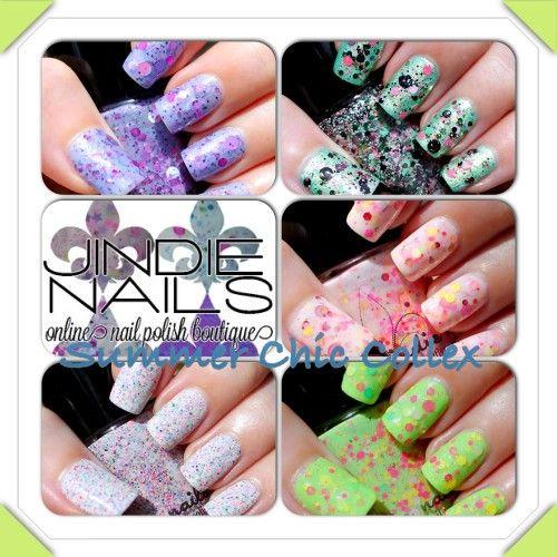 Jindie Nails Summer Chic Collex