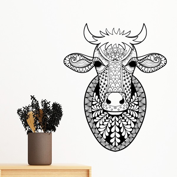 Animal Big Cow Picture Removable Wall Sticker Art Decals Mural Diy Wallpaper For Room Decal Sticker Wall Art Room Decals Diy Wallpaper