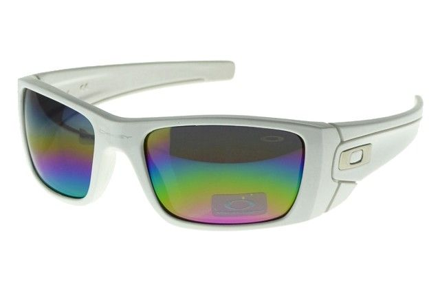 Oakley Fuel Cell Sunglasses polished white frames blue-pink-yellow ...