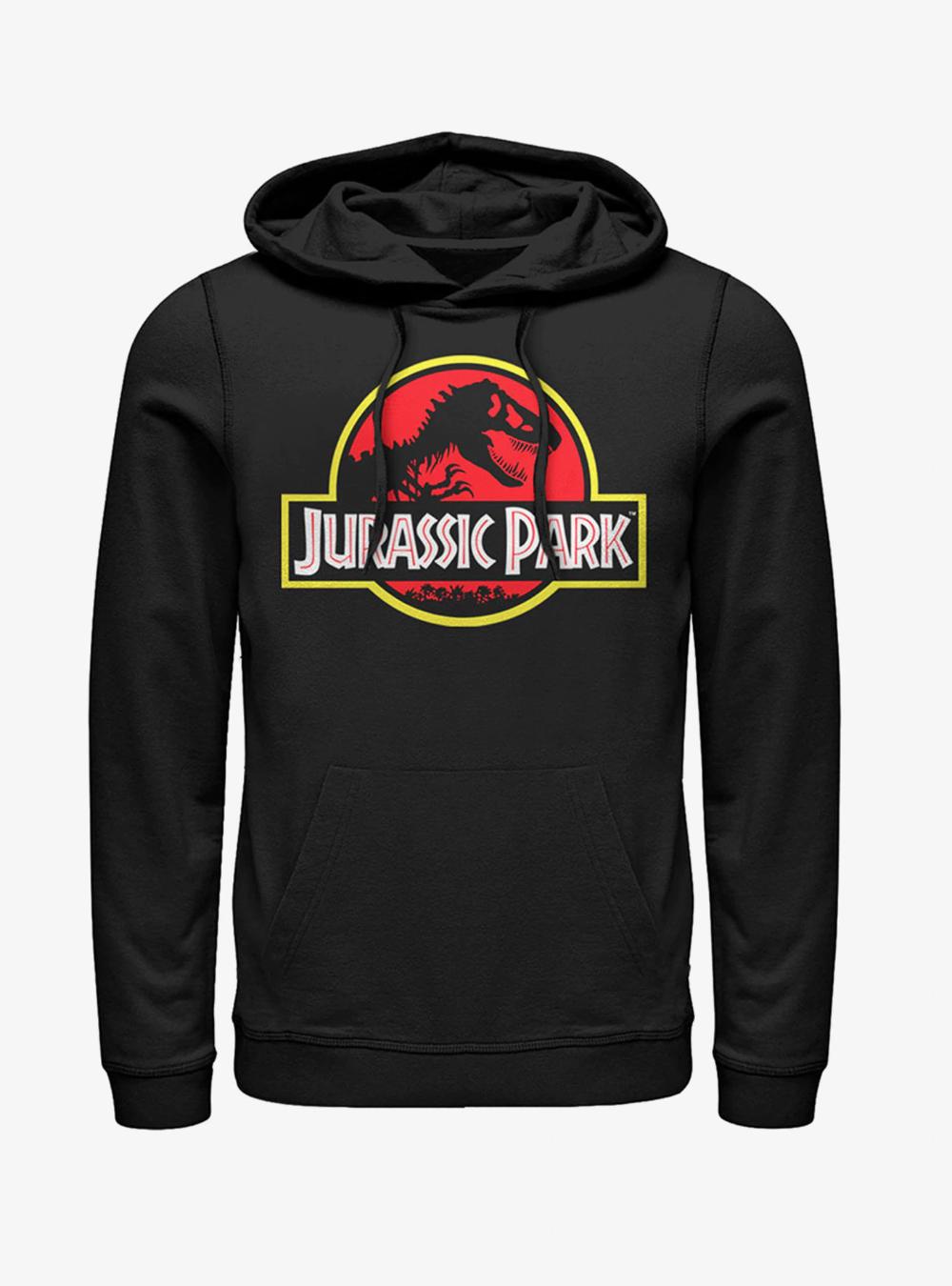 Jurassic Park Bold Classic Logo Hoodie Hoodies, Sunset