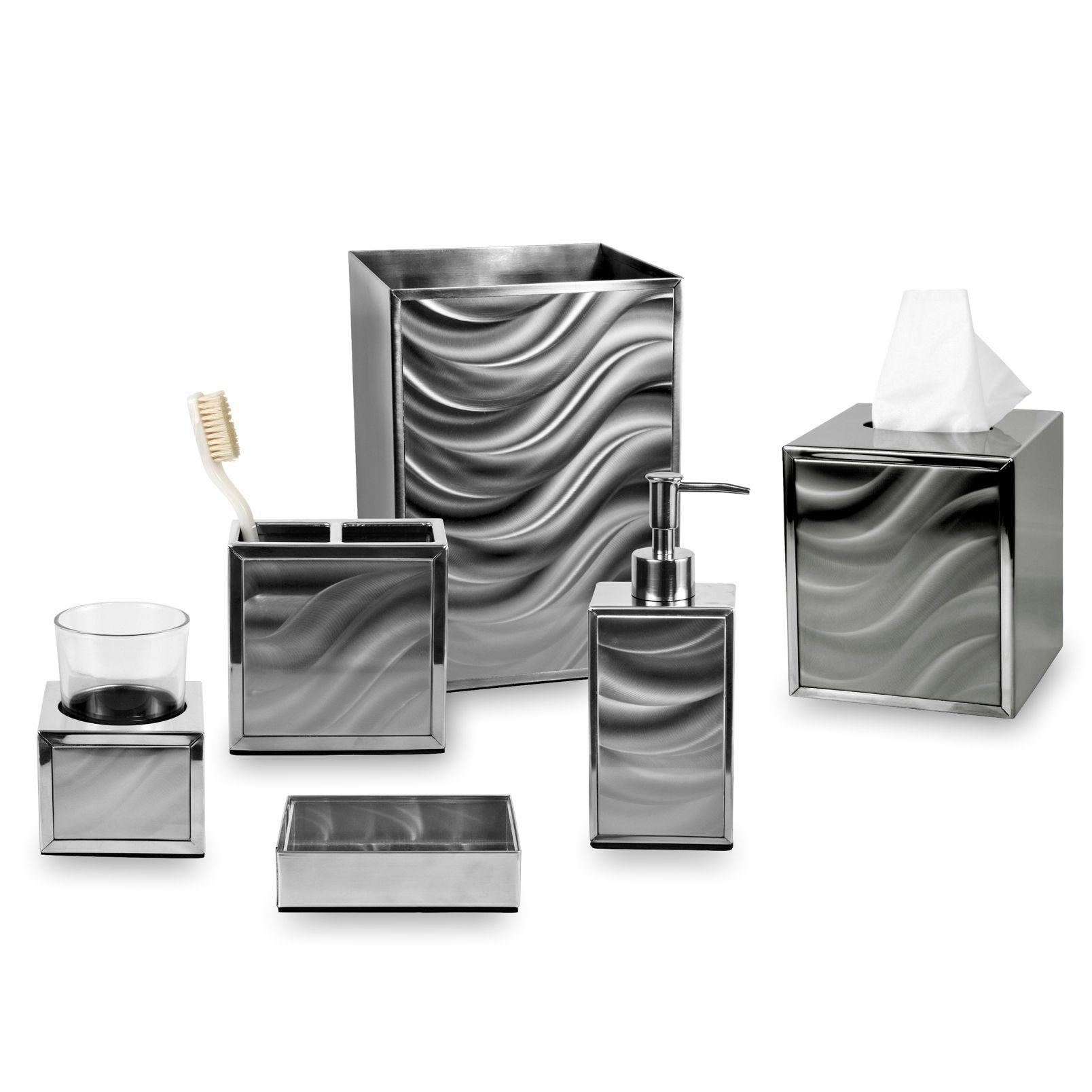 Elegantes badezimmerdekor moire bath collection  products  pinterest