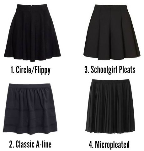 Closet VIP: How I Wear My Black Skater Skirt | Black skater skirts ...