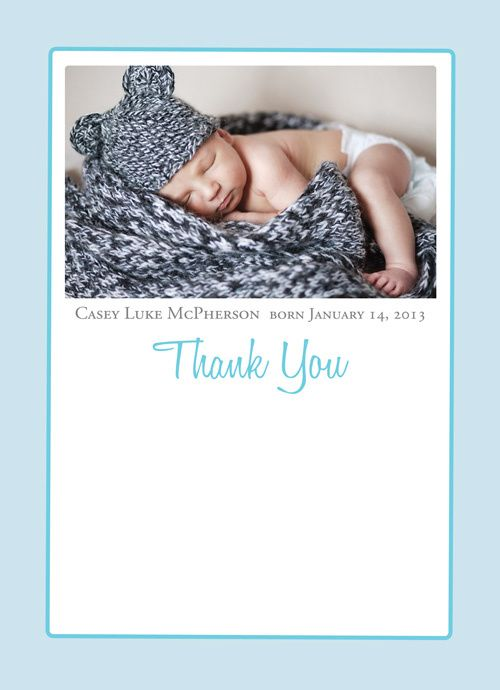Bella Baby - birth announcement thank you note combo, $0.99 (http://www.bellababy.com/birth-announcement-thank-you-note-combo/)
