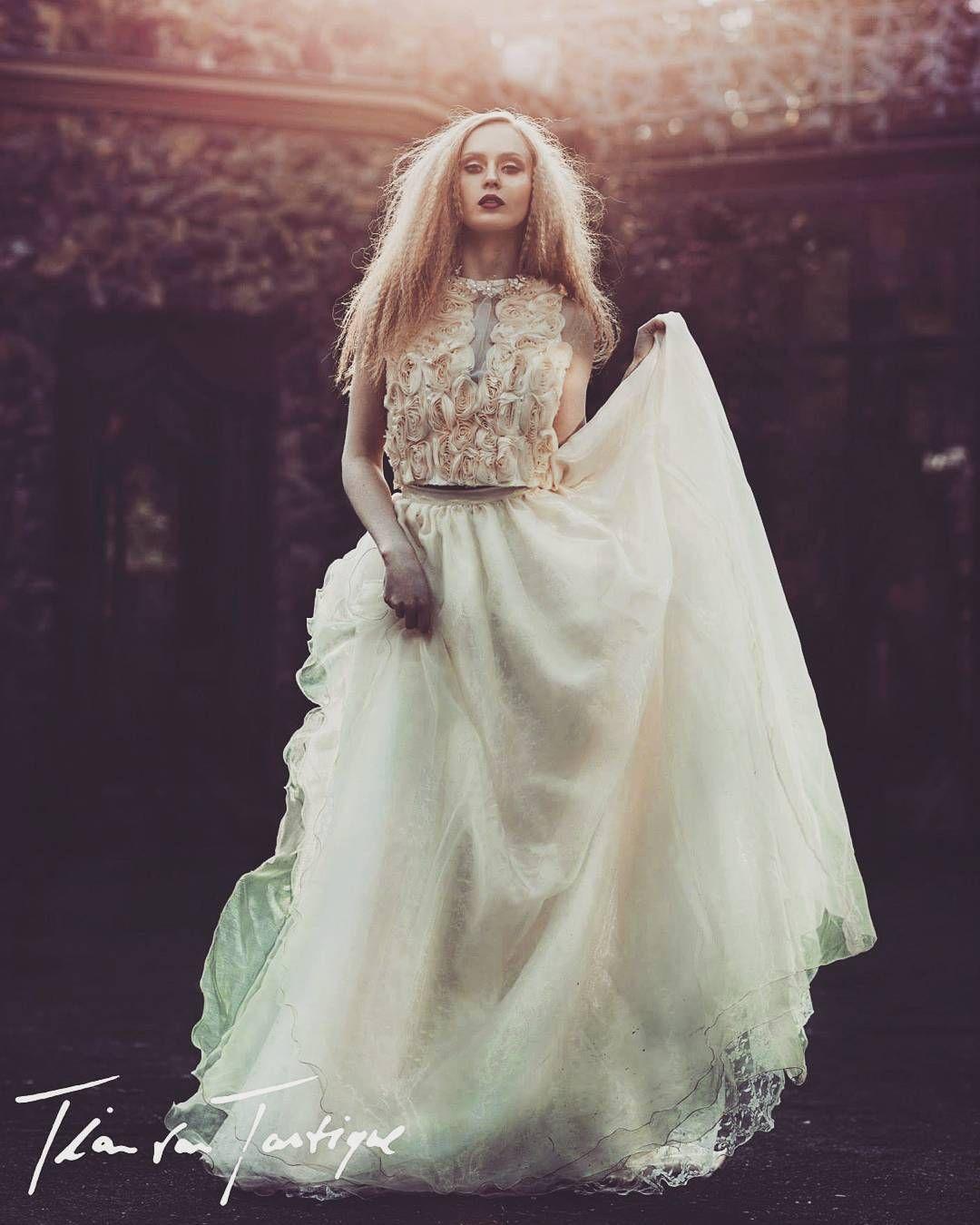 Ein Traumhaftes Brautkleid Von Tian Van Tastique Vintage