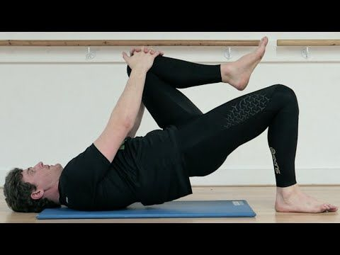 single leg bridge  glute exercise ep34  youtube