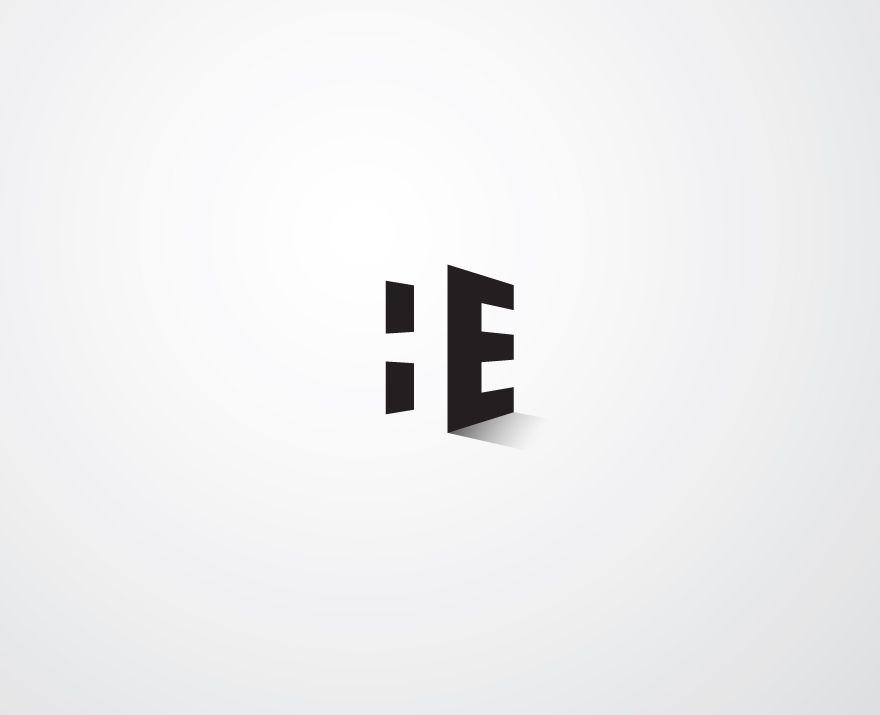 Logo para marca personal utilizando los espacios negativos - Disenador de espacios ...
