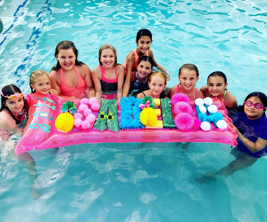 Pineapple In Paradise Pool Party Awesome Birthday Party Idea For